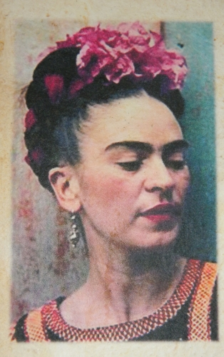 Mexique,Frida Kahlo,carnet,papier recyclé